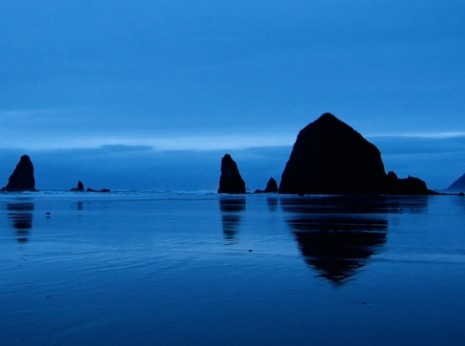 Cannon Beach, Oregon and Haystack Rock