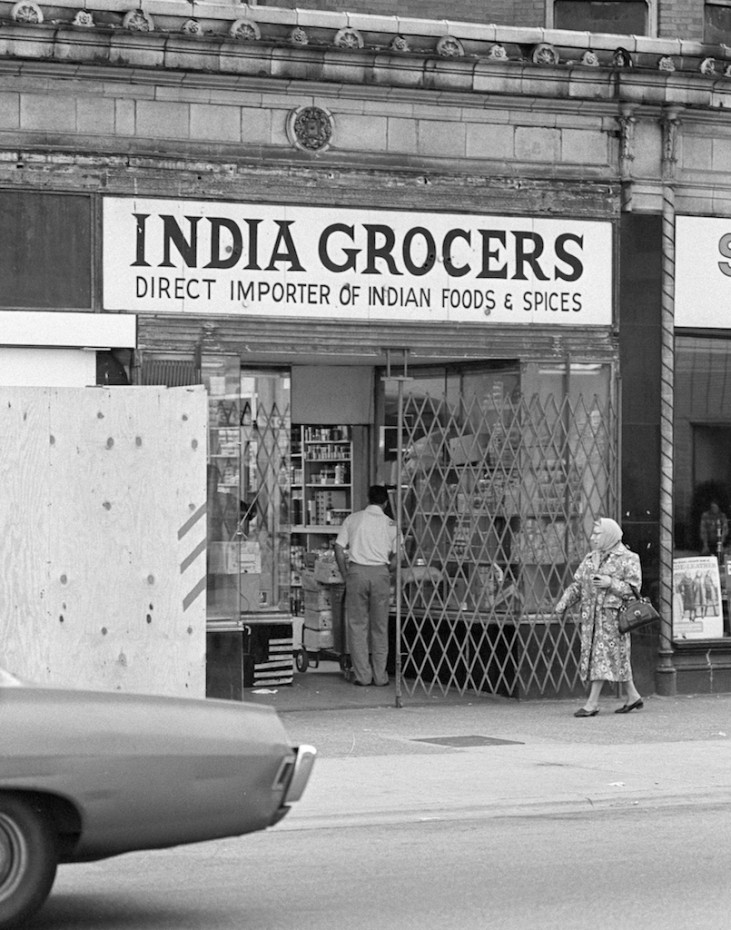 India Grocery Story on Sheridan in Uptown.