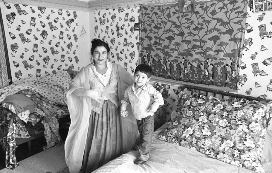 Mother and Child on Cristmas, 1974